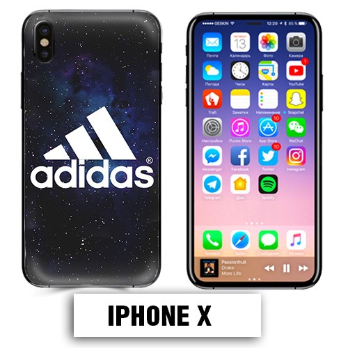 iphone x coque adidas