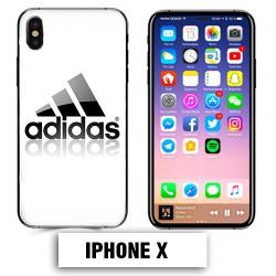 Coque iphone X logo Adidas