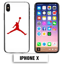 Coque iphone X air Jordan basket 23 rouge