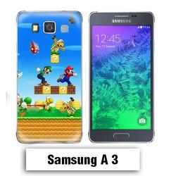 Coque Samsung A3 2017 Mario Bross jeu