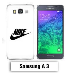 Coque Samsung A3 2017 NIKE Blanche