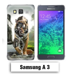 Coque Samsung A3 2017 animal tigre robot