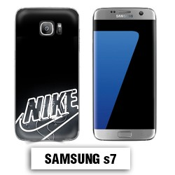 Coque Samsung S7 logo Nike néon