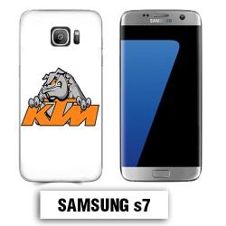 Coque Samsung S7 KTM buldog