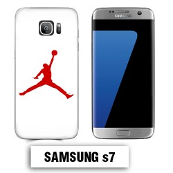 Coque Samsung S7 Air Jordan Rouge