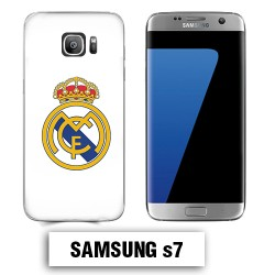 Coque Samsung S7 Real Madrid foot