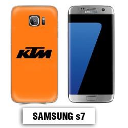 Coque Samsung S7 KTM orange