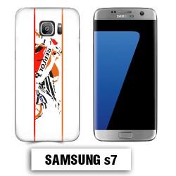 Coque Samsung S7 moto REPSOL