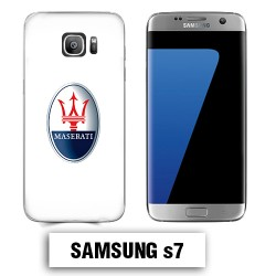Coque Samsung S7 logo Maserati