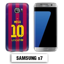 Coque Samsung S7 Barcelone Messi