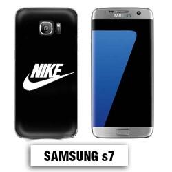 Coque Samsung S7 NIKE Noir