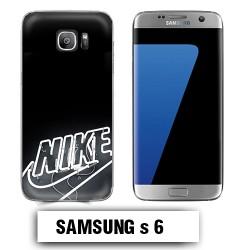 Coque Samsung S6 logo Nike néon