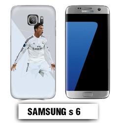 Coque Samsung S6 Ronaldo Madrid