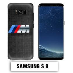 Coque Samsung S8 BMW carbone
