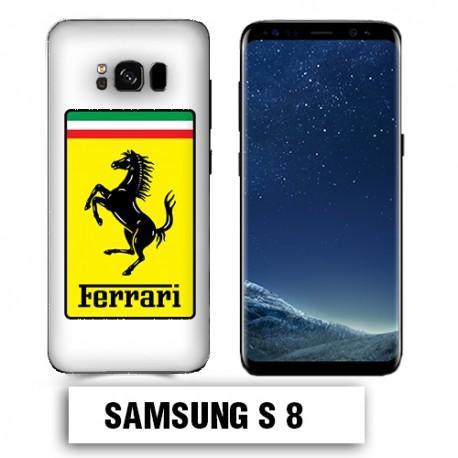 Coque Samsung S8 Logo Ferrari