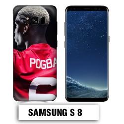Coque Samsung S8 Pogba Manchester