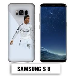 Coque Samsung S8 Ronaldo Madrid