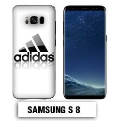 Coque Samsung S8 Adidas Blanche