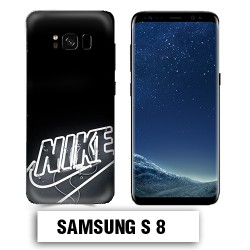 Coque Samsung S8 logo Nike néon