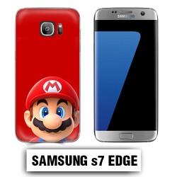 Coque Samsung S7 Edge Mario Bross