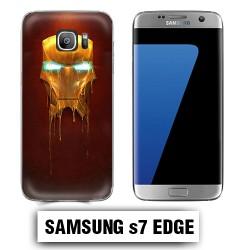 Coque Samsung S7 Edge Iron Man