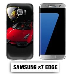 Coque Samsung S7 Edge Lamborghini Gallardo