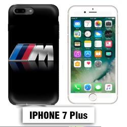Coque iphone 7 PLUS BMW M Power carbone Noire
