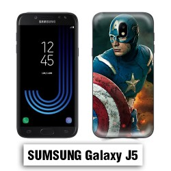 Coque Samsung J5 Captain Super America Comics