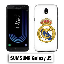 Coque Samsung J5 logo Real Madrid foot