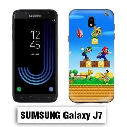 Coque Samsung J7 Mario Bross jeu