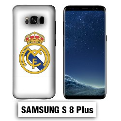 Coque Samsung S8 Plus Real Madrid foot