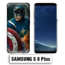 Coque Samsung S8 Plus Captain Super America Comics