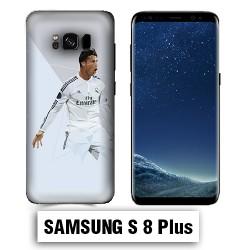 Coque Samsung S8 Plus Foot Ronaldo Madrid