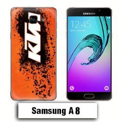Coque Samsung A8 KTM cross enduro