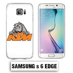 Coque Samsung S6 Edge KTM Bulldog