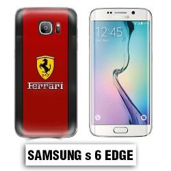 Coque Samsung S6 Edge voiture Ferrari 458 488