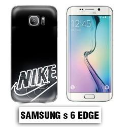 Coque Samsung S6 Edge logo Nike néon