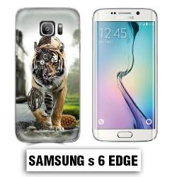 Coque Samsung S6 Edge animal tigre robot