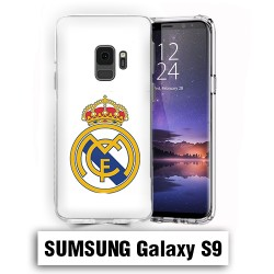 Coque Samsung S9 Real Madrid foot logo