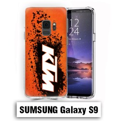 Coque Samsung S9 KTM cross enduro