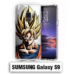 Coque Samsung S9 Sangoku Super Sayen Dragon Ball