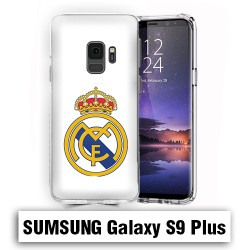 Coque Samsung S9 Plus Real Madrid foot logo