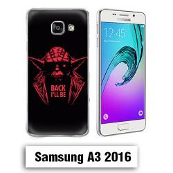 Coque Samsung A3 2016 yoda starwars Back i'll be