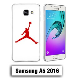 Coque Samsung A5 2016 logo Air Jaordan Rouge