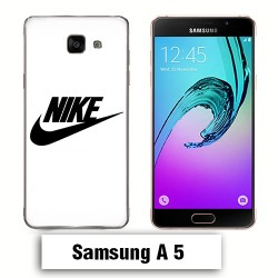 Coque Samsung A5 Logo Nike Noire
