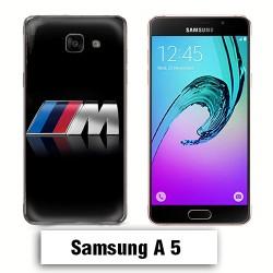 Coque Samsung A5 Logo BMW M Noire