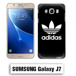 Coque Samsung J7 2016 Logo Adidas Noire
