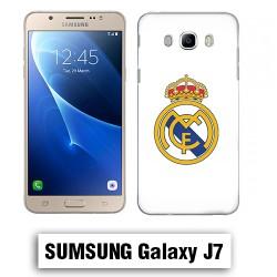 Coque Samsung J7 2016 Logo Real Madrid foot