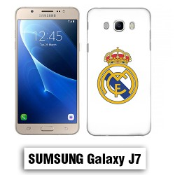 Coque Samsung J7 Logo Real Madrid foot