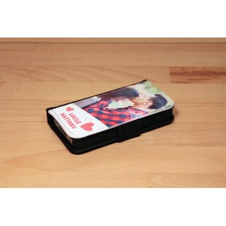 Kundenspezifische iPhone XR Hülle mit horizontaler Einzelklappe